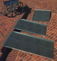 PVI Solid Wheelchair Ramp