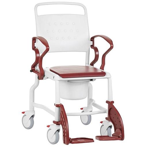 Bonn wheeled mobile shower commode chair