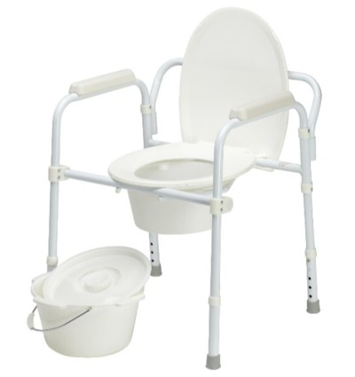 Commode Folding Over Toilet Aid Delta T14