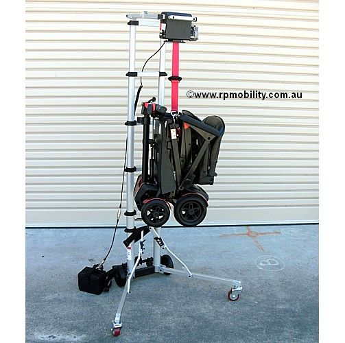 Portable Folding Scooter Hoist