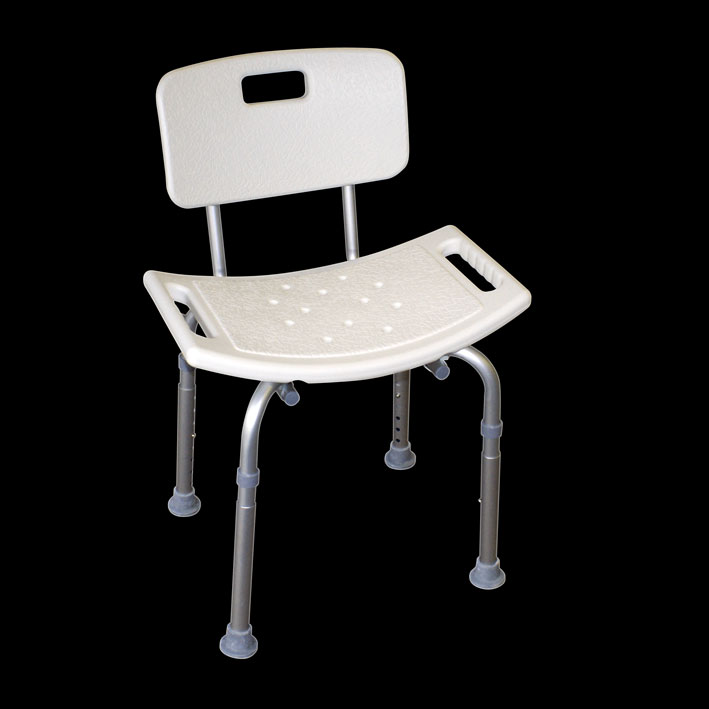 Shower Chair Aluminium EC404