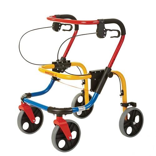Fox & Fixi pediatric wheeled walker by Rebotec