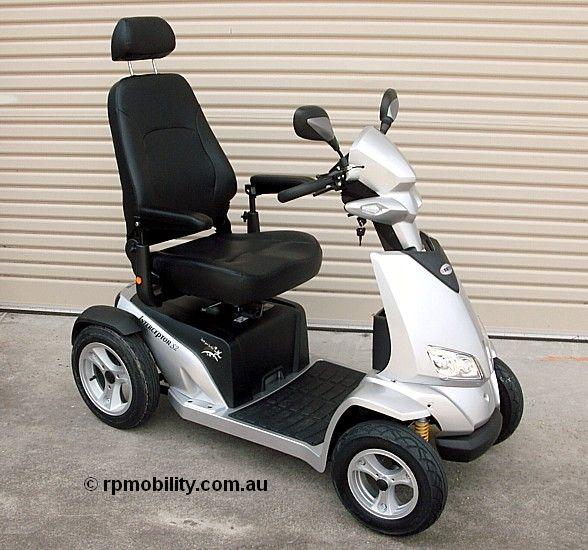Merits Interceptor Mobility Scooter