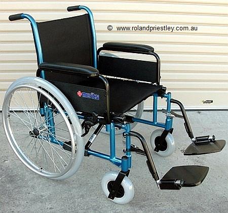 Merits Bariatric Heavy Duty Wheelchair L470