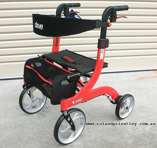 Drive Nitro Petite Rollator