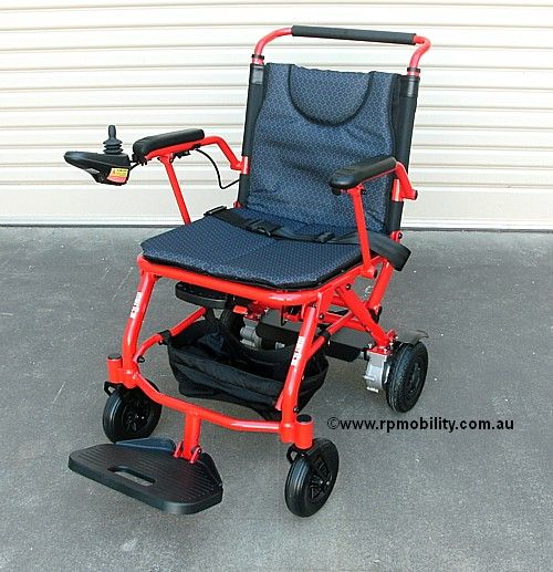 Merits P113 Fold & Go Compact Power Wheelchair