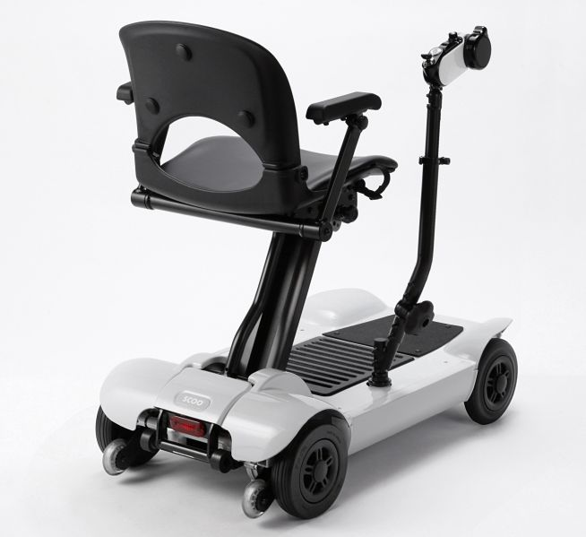 Merits Scoo X Mobility Scooter Rear View