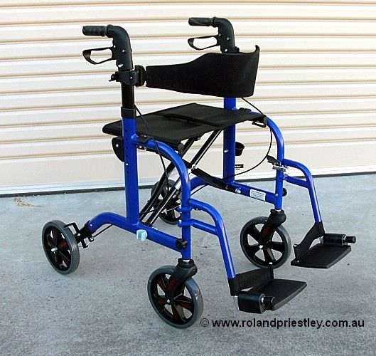 Aidapt VP184 Duo Rollator Transit Wheelchair