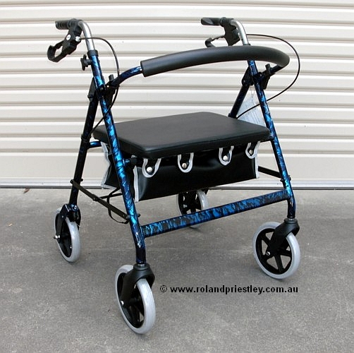Merits Bariatric Seat  Walker Rollator W467