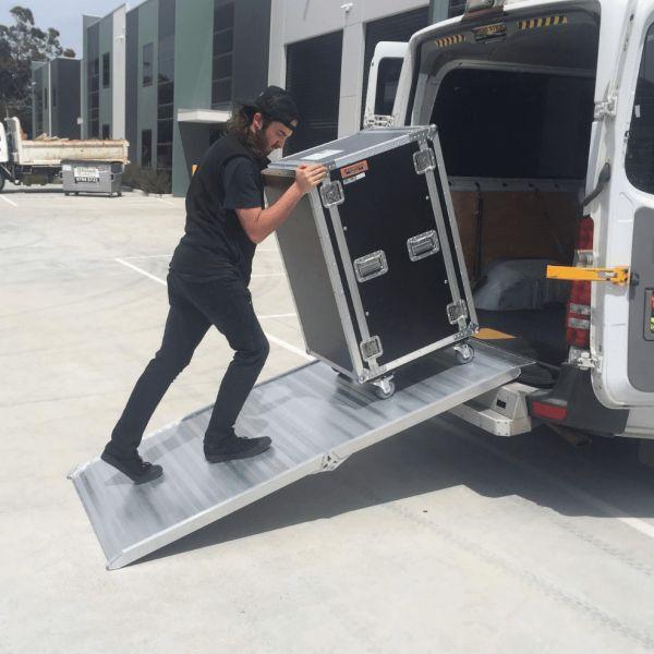 Heeve Walk Loading Ramp Man Van #1